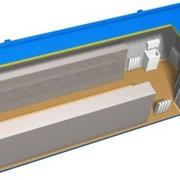Гардеробная на 20 мест (Г-20) на базе блок-контейнера размерами 3x9x2,8 м фото