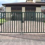 Распашные ворота №2 фото