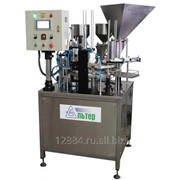 Упаковочный автомат карусельного типа АЛЬТЕР-01 для сыпучих, трёхкомпонентных фото