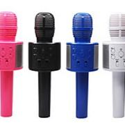 Беспроводной караоке-микрофон Handheld KTV Q858 (Синий) фото