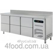 Стол холодильный с выдвижными шкафчиками Asber ETP-6-200-22 фото
