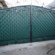 Ворота кованые ручная работа фото