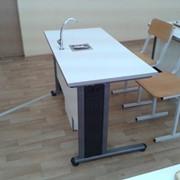 СХ-1 Парта для кабинета химии + 2 стула фото