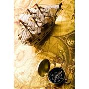 """Пакет подарочный ламинированный """"Бескрайние путешествия"""", 26х14х33см, (Miland) фото"""