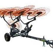 Грабли прицепные колесно пальцевые серии H90 Навигатор спица 7мм фото
