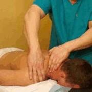 Спортивный массаж. фото