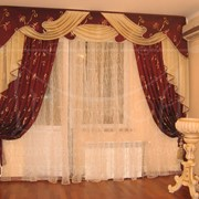 Дизайн штор та пошиття на замовлення фото