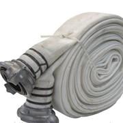 Рукава пожарные напорные диаметром 66 мм. с гайками фото