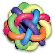 Игрушка для собак Клубок из резины d 9,5 см. фото