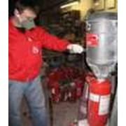 Зарядка и техническое обслуживание огнетушителей всех типов фото