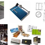 Фальцовка, Работы послепечатные и отделочные, Работы послепечатные и отделочные. фото