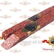 Колбаса Деревенская сыровяленая салями первого сорта фото