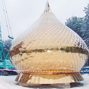 Купола для храмов Изготовление куполов для храмов фото