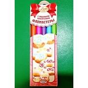 Фломастеры с пищевыми красителями (яркие цвета) фото