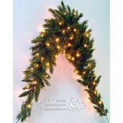 """Сваг """"Лесная Красавица"""", светящийся, 96 ламп, 180*36 см, ЛЕСКА (Triumph Tree) фото"""