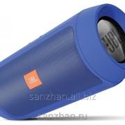 Влагозащищенная Колонка jbl charge2+ Синяя 87004 фото
