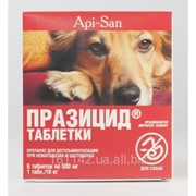 Празицид таблетки для собак 6 таб Api-San фото