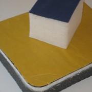 Услуги по Дублированию тканей через поролон 2-5 мм. ширина до 2 м/п. фото