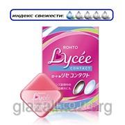 Rohto Lycee Contact мягкие глазные капли при ношении любых контактных линз 100142 фото