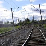 Строительство новых железнодорожных путей фото
