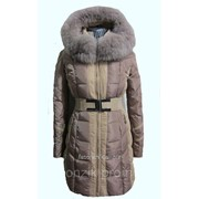 Пальто комбинированное 505 фото