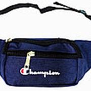 Поясная сумка №4 Champion синий фото
