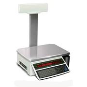 Весы с принтером для печати этикеток, штрих-кодов DIGI SM-100 фото