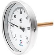 Термометр биметаллический БТ (осевое присоединение) фото