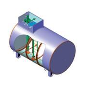 Резервуар горизонтальный стальной подземный РГСП фото