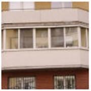 Остекление балконов и лоджий Мариуполь фото