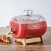 Диспенсер для напитков Barrel на подставке (3 л) фото