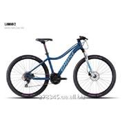 Велосипед GHOST Lanao 2 darkblue/white/cyan/pink, 16MS4539 фото