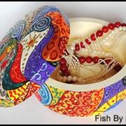 Шкатулка ручной работы Вернисаж фото