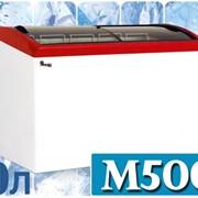 Морозильный ларь с гнутым стеклом JUKA M500S фото