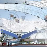 Архитектурное проектирование горно-лыжных комплекс фото