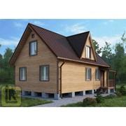 Дом каркасно-щитовой Проект №28 (6х9) фото