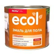 Эмаль ПФ-266 для пола ECOL (Глянцевая) фото