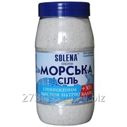 Соль морская пищевая с пониженным содержанием натрия + калий, 700г фото