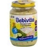 Пюре Bebivita Овощное рагу с цыпленком, с 9 мес 190 гр фото
