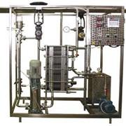 Установка теплообменная пластинчатая ВГ-1,0-ПОУ пастеризационно-охладительная для пива с пневмоприводом фото