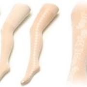 Колготки из микрофибры с узором RA-14 фото