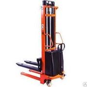 Штабелер гидравлический 1500кг с электроподъемом TOR 15/30, 1,5т 3,0м (CTD) фото