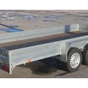 Прицеп BREN-4002 двухосный для легкового автомобиля и микроавтобуса фото