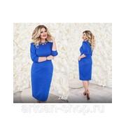 Жаккардовое платье 2851 фото