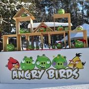 """Аренда аттракциона """"Angry Birds"""" (Энгри Бердс) в Минске фото"""