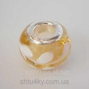 Бусина Pandora в желтом цвете P4260961 фото