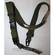 Ремень оружейный 3-точечный , цвет Green фото