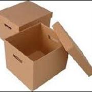 Изготовление упаковки. фото