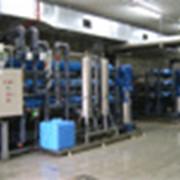 Монтаж оборудования для очистки воды фото
