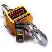 Электронные крановые весы на 5 тонн, модель КВВ-5000Р (информация отображается на пульте) фото